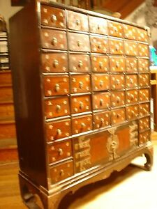 40 Drawer Chinese Apothecary Cabinet