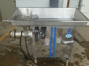 Biro 7552 Commercial Meat Grinder 7 5hp 3phase