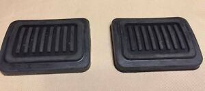 Pair 82 93 Dodge Ram Clutch Brake Pedal Pads New Fits Cummins Turbo Diesel