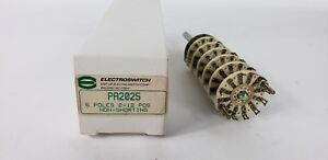 Electroswitch P2025 6 Poles 2 12 Pos Non shorting Rotary Switch New