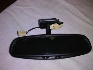 1998 2004 Volvo C70 Convertible Oem Rear View Mirror With Autodim Feature