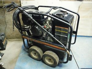 2014 Mi t m Hsp 3004 3mgh 3000 Psi Portable Hot Water Pressure Washer W Honda