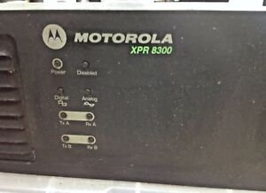 Motorola Xpr8300 Uhf Repeater Model Aam27trr9ja7an Used And Tested 450 512