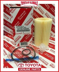 Toyota Land Cruiser Sequoia Tundra Oil Filter Set Of 1 Genuine Oem 04152 Yzza4