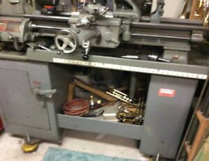 South Bend 10 Swing Lathe W Cabinet More don t Pay For This Item W Paypal