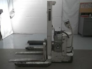 Barrett 4000lbs Electric Walkie Stacker Forklift Palletjack Walkbehind for2102