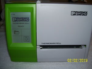 Phoenix Contact Thermomark Roll Thermal Transfer Printer 5146477