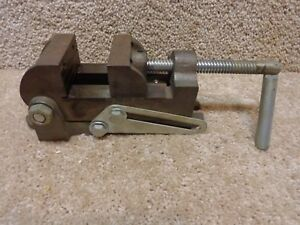 90 Degree Tilting Drill Press Vise 2 1 2