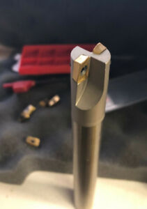90 Degree Indexable End Mill 5 8 Shk 10 Inserts