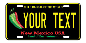 Personalized Custom Aluminum License New Mexico Nm Plate Car Tag Your Text