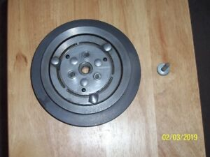1971 73 Ford Mustang Original 351c A c Compressor Pulley Assembly W bolt