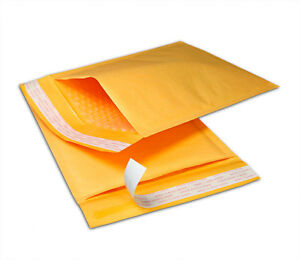 00 5x10 Kraft Bubble Mailers Mailing Padded Shipping 5 X 9 Envelopes Bags