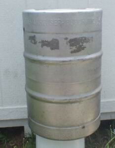 Anheuser Busch Keg 15 5 Gallon Estate Item