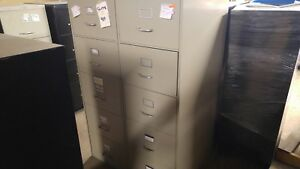 Lot Of Used 4 Drawer And 5 Drawer Vertical File Cabinets