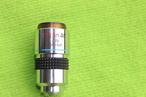 Olympus S Plan 40x 0 70 160 0 17 Microscope Objective For Bh2 Ch2
