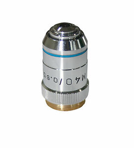 M 40x Metallurgical Metallograph Reflected Light Microscope Objective