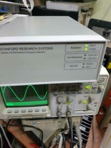 Stanford Research Systems Fs725 Rubidium Frequency Standard Opt 03 18 Channels
