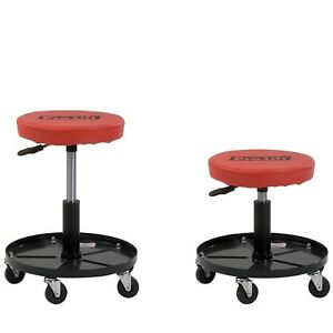 Professional Mechanics Rolling Seat Creeper Roller Chair Heavy Duty Shop Stool