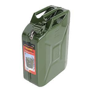 Jerry Can Gerry Can Fuel Can 20 Litre Metal Green Genuine Neilsen Ct1262