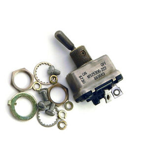 New Eaton Cutler Hammer 8836k9 Spst Latched Toggle Switch Ms25306 222 25a 115vac