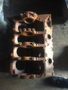 1964 Pontiac Gto Tri Power Engine Block 76x W 504225