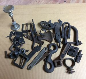 Vintage Hardware Lot Steampunk Horse Buggy Farm Free Shipping
