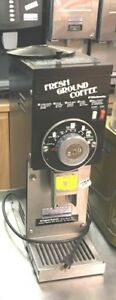 Coffee Grinder Grindmaster Model 835 Black 1 2 Hp Commercial