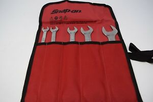 Snap on Open End 5 pc Wrench Set lta805k