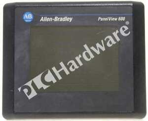 Allen Bradley 2711 t6c8l1 Series a Panelview 600 Color 6 in Touch Dh rs 232