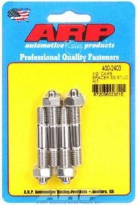 Arp 400 2403 1 2 Spacer Ss Carburetor Stud Kit