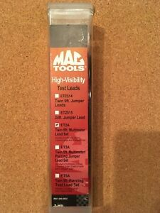 Mac Tools High Visibility Test Leads Set Et2a Brand New