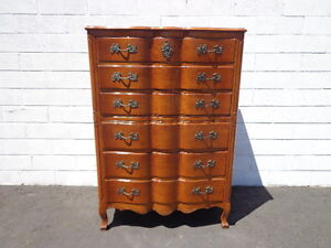 Dresser Tallboy Highboy French Provincial Chest Of Drawers Storage Neoclassical
