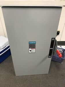 New No Box Siemens 200 Amp 240 Volt Non fused Double Throw Switch Dtnf324r