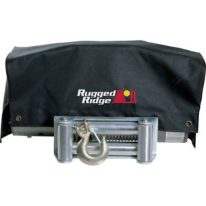Rugged Ridge Winch Cover 8500 And 10 500 Winches P n 15102 02