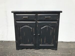 Antique Cabinet Buffet Tv Console Country Chest Of Drawers Vintage Shabby Chic