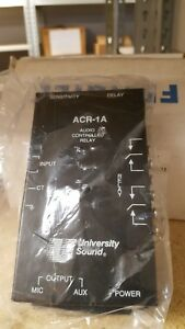 University Sound Audio Controlled Relay Module Acr 1a