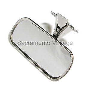 1948 1949 1950 1951 1952 Ford Truck Inside Rear View Mirror Chrome Pickup