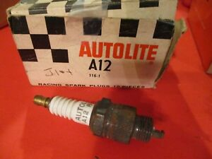 A12 autolite racing spark Plugs lot Of 10