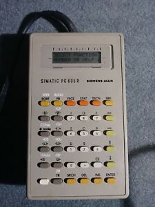 Siemens Simatic S5 101r Plc With Programmer Manuals Working