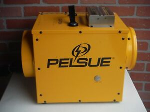 New Pelsue Portable Propane Tent Confined Space Heating Ventilation System