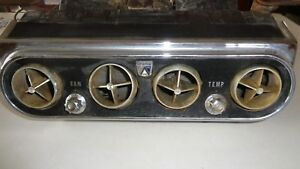 1965 1966 Ford Mustang Air Conditioner Assembly Orig A c Underdash