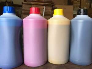 4 Bottles Of Epson Dye Sublimation Ink For Heat Transfer 1000 Ml Each C y m k