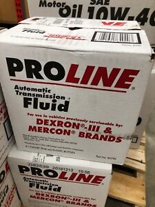 Pro Line Mercon Dexron Iii Conventional Transmission Fluid Pack Of 6 Quarts