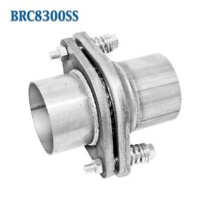 Brc8300ss 3 Id Stainless Quickfix Exhaust Spherical Joint Spring Bolt Flange
