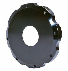 Wilwood 171 7671 Brake Rotor Hat Hd Fixed Mount Aluminum Black Undrilled Bolt