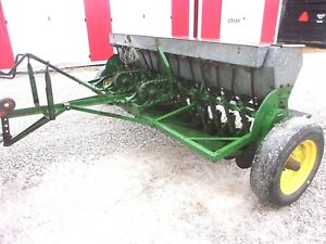 John Deere 8 Ft Seed Drill works Great For Hemp Seed can Ship 1 85 Loaded Mi