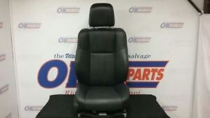 14 Dodge Charger Front Right Passenger Power Seat Black Leather