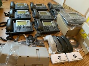 Mixed Lot Of 9 Cisco 7962g 7961g And 7960 Unified Ip Phones Cp 7962g