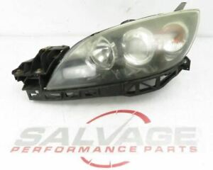 2007 2009 Mazdaspeed Mazda 3 Speed Oem Lh Left Driver Headlight Halogen Non hid