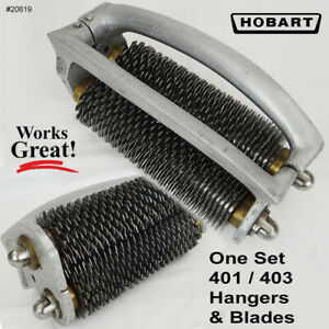 Set Of Hangers And Blades For Hobart 401 And 403 Commercial Meat Tenderizer